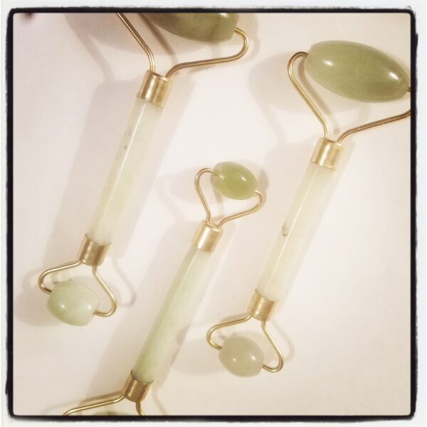Jade Gemstone Facial Roller