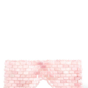 Gemstone Rose Quartz Eye Mask
